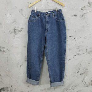 LIZ CLAIBORNE Vintage Women's Baggy Blue Jeans